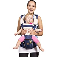 Bebamour New Style Designer Sling and Baby Carrier 2 in 1,Approved by U.S. Safety Standards with 2 Pieces Teething Pads…