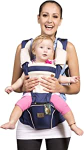 Bebamour Designer Sling and Baby Carrier 2 in 1 (Blue)