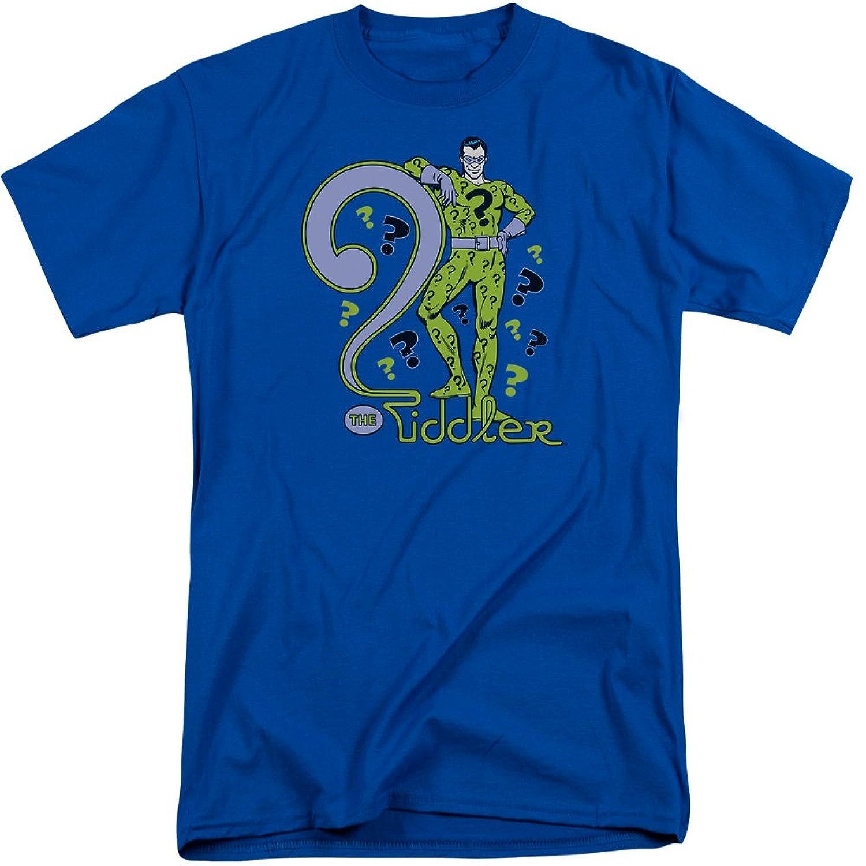 DC Comics Men's The Riddler Tall T-Shirt