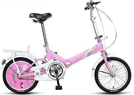 Xiaoping Bicicleta Plegable 16 Bicicleta híbrida Reforzado ...