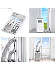 TROTEC AirLock 1000 Tür- und Fensterabdichtung für Mobile Klimageräte, Klimaanlagen und Ablufttrockner Hot Air Stop