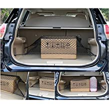 Car Trunk Elastic Cargo Net For Nissan Rogue 2014-2017 Floor Trunk Cargo Net