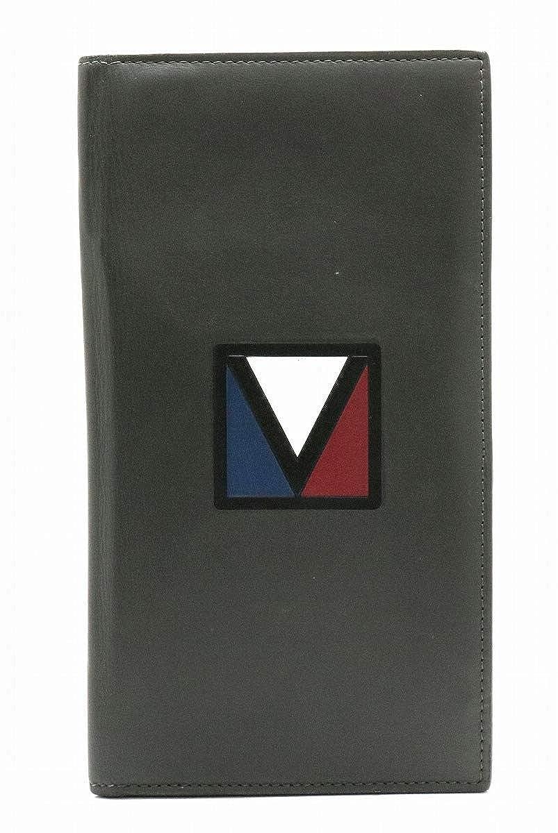 [ルイ ヴィトン] LOUIS VUITTON Vライン Eジップ ロング 2つ折 長財布 アスファルトグレー M61259 [中古] B07NMDKMH4