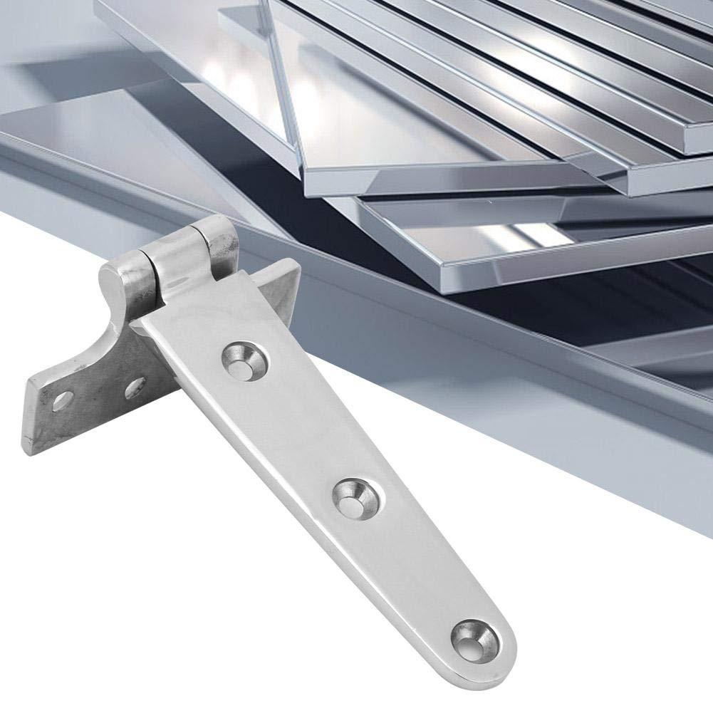 4.5 mm 75 Bisagra de puerta de acero inoxidable gruesa Bisagra Bisagra Accesorios para el hogar para puerta de gabinete 151 Bisagra tipo T