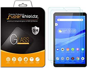 (2 Pack) Supershieldz for Lenovo (Tab M8 FHD) 8 inch Tempered Glass Screen Protector, Anti Scratch, Bubble Free