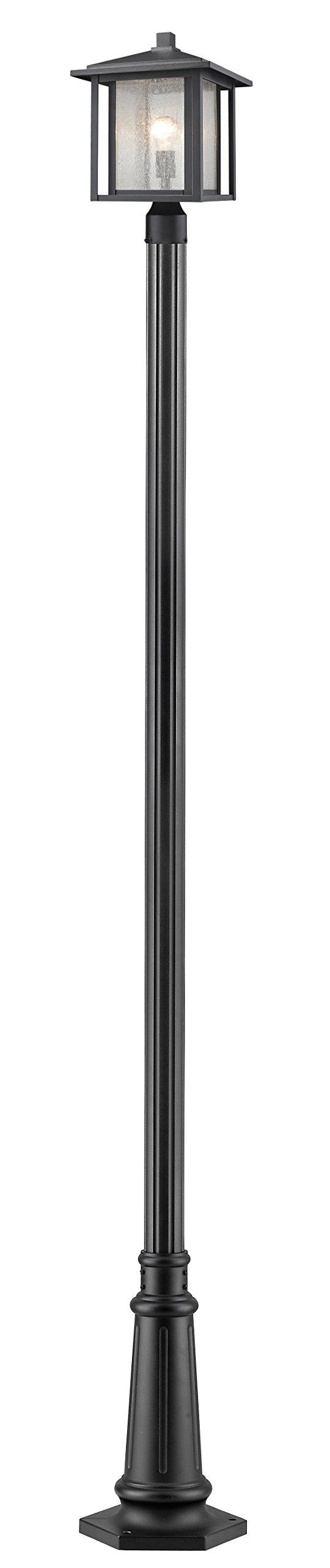 Z-Lite 554PHB-557P-BK 1 Light Outdoor 1