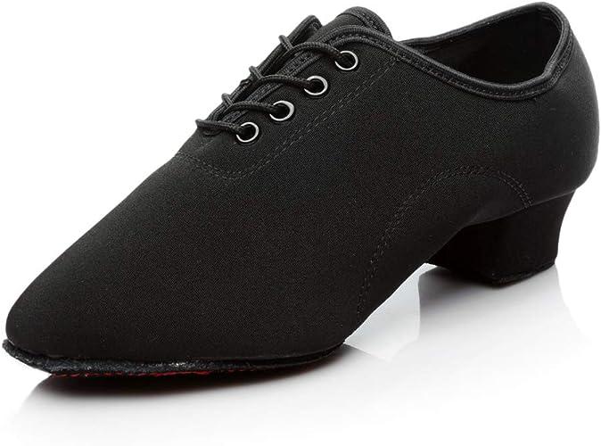 HIPPOSEUS Chaussures de Danse Latine Standard Ballroom pour Hommes mod/èle FRCL-Men