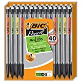 BIC Xtra-Life Mechanical Pencil, 0.7 mm, 40-Count