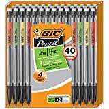 BIC Xtra-Life Mechanical Pencil, Medium Point (0.7 mm), 40-Count