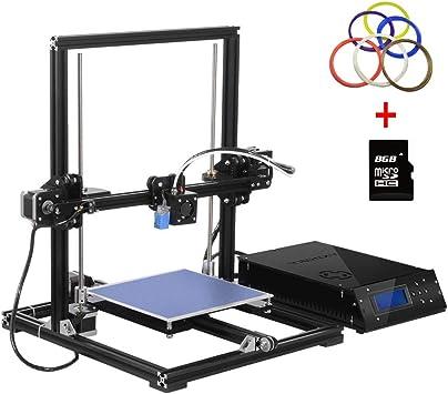 Impresora 3D Aluminum Prusa i3 3D Printer DIY con MK8 ...