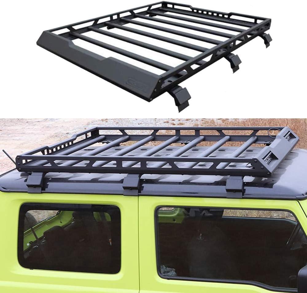 Pandaorv Folded Roof Rack Carrier Basket Rooftop Cargo Luggage ...