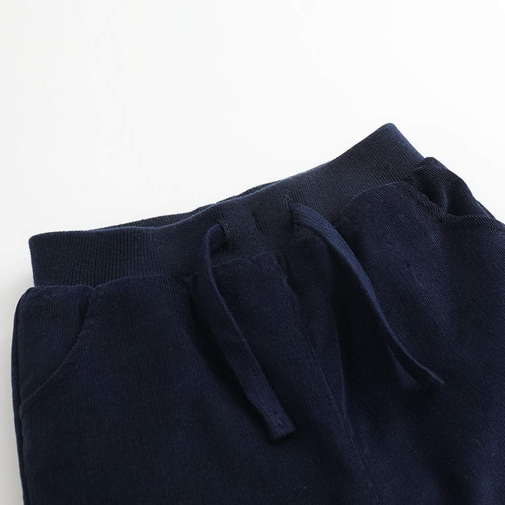marc janie Little Girls Winter Corduroy Pants Baby Girls Thick Pants