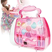 Cindere Kids Girl Makeup Set Eco-Friendly Cosmetic Pretend Play Kit Princess Toy Gift