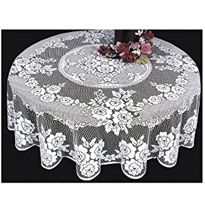 Amazon Com Heritage Lace Victorian Rose 72 Inch