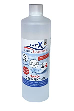 500ml Desinfektionsmittel Fur Hande Gegen Viren Bakterien Pilze