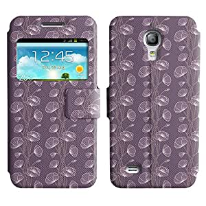 LEOCASE flor linda Funda Carcasa Cuero Tapa Case Para Samsung Galaxy S4 Mini I9190 No.1005577