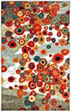 Mohawk Home Strata Tossed Floral Abstract Printed Area Rug, 6 x 9, Multicolor