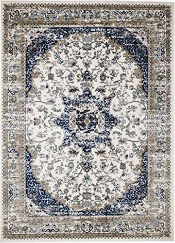 MADISON COLLECTION TN-W5MZ-GUWG 401 Vintage Distressed Style Area Rug Clearance Soft Pile Durable Size Option , 1'.10'' x 7 ' hallway runner by MADISON COLLECTION