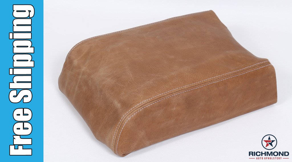 2007 Ford F-150 King Ranch Super-Crew Replacement Leather Center Console Lid Cover King Ranch