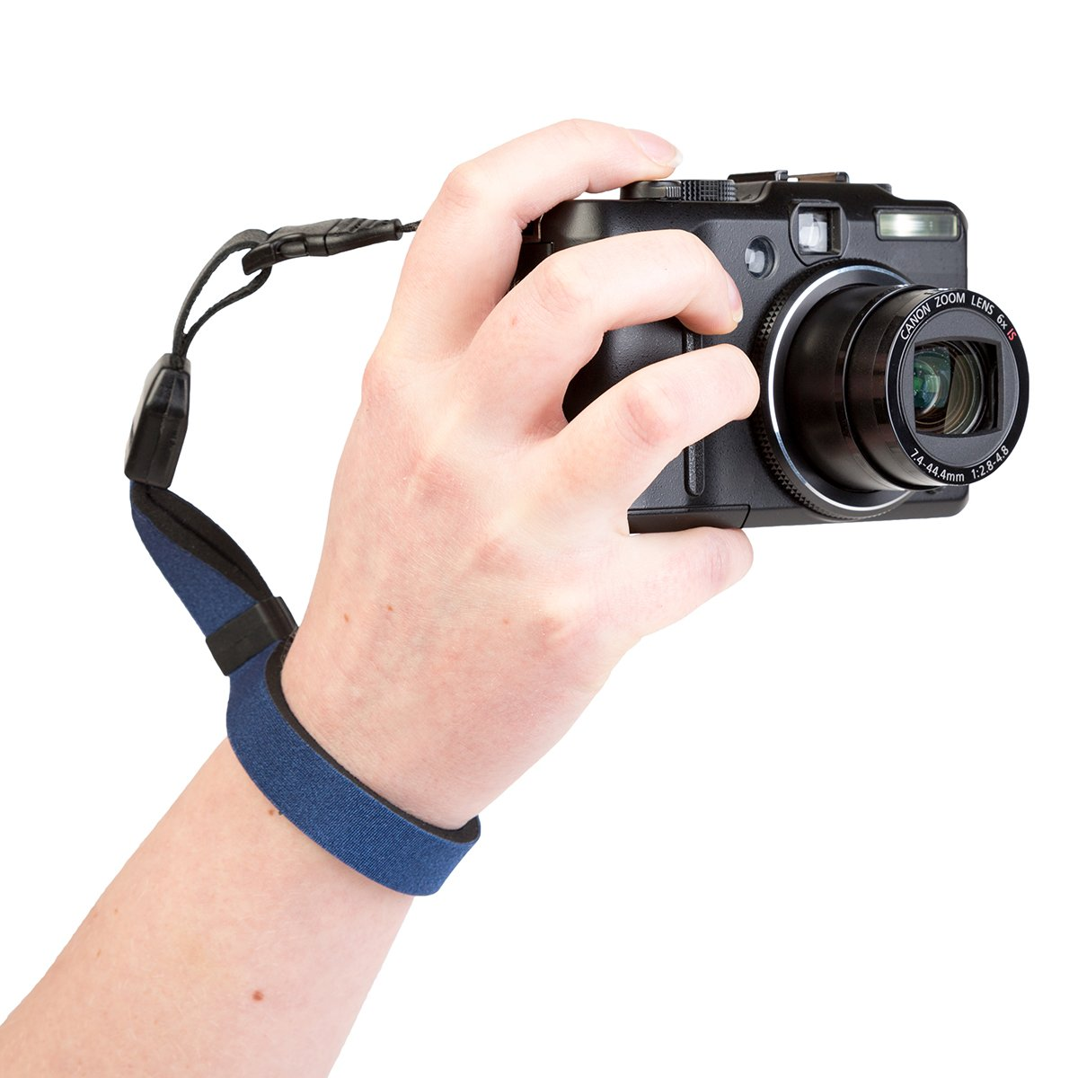 OP/TECH Cam Strap QD for Compact Cameras and Binoculars - Navy
