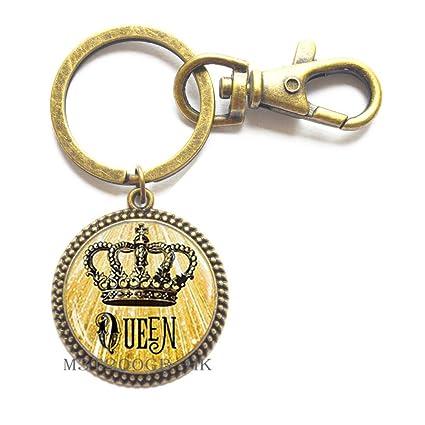 Llavero de la corona, llavero de la Reina, llavero, llavero ...