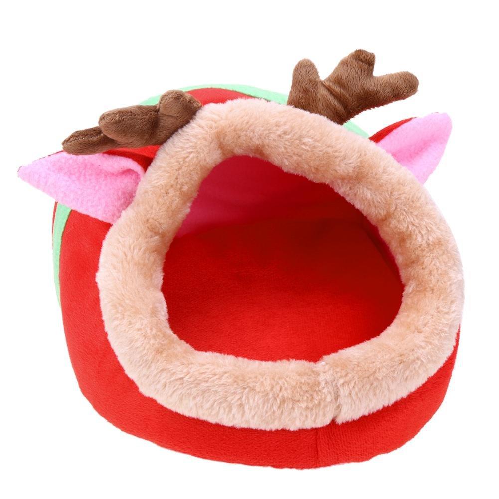 Macrorun Jaula de Felpa para Hámster (Diseño de cobaya): Amazon.es: Productos para mascotas