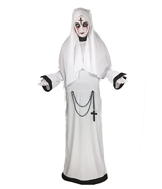 Amazon.com: Sinister Sister Costume, Gothic Nun, Scary Mary ...