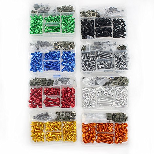 Motorcycle Fairing Bolt Kit Screws Fasteners Fixing Sportbike Pack for Yamaha Honda Kawasaki Suzuki BMW