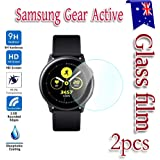 Samsung Galaxy Gear Active Watch Tempered Glass Screen Protector Guard ([2 Pack])