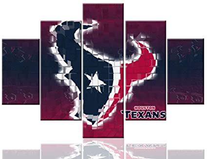 Amazon Com Houston Texans Logo Pictures Sport Paintings National
