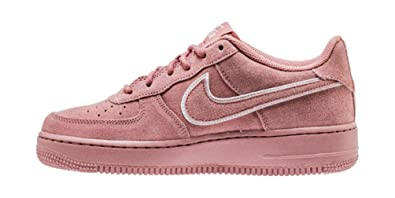 Amazoncom Nike Air Force 1 Lv8 Suede Red Stardustred Stardust