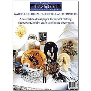 Lazertran Decal Transfer Paper 10Pk 8.5X11