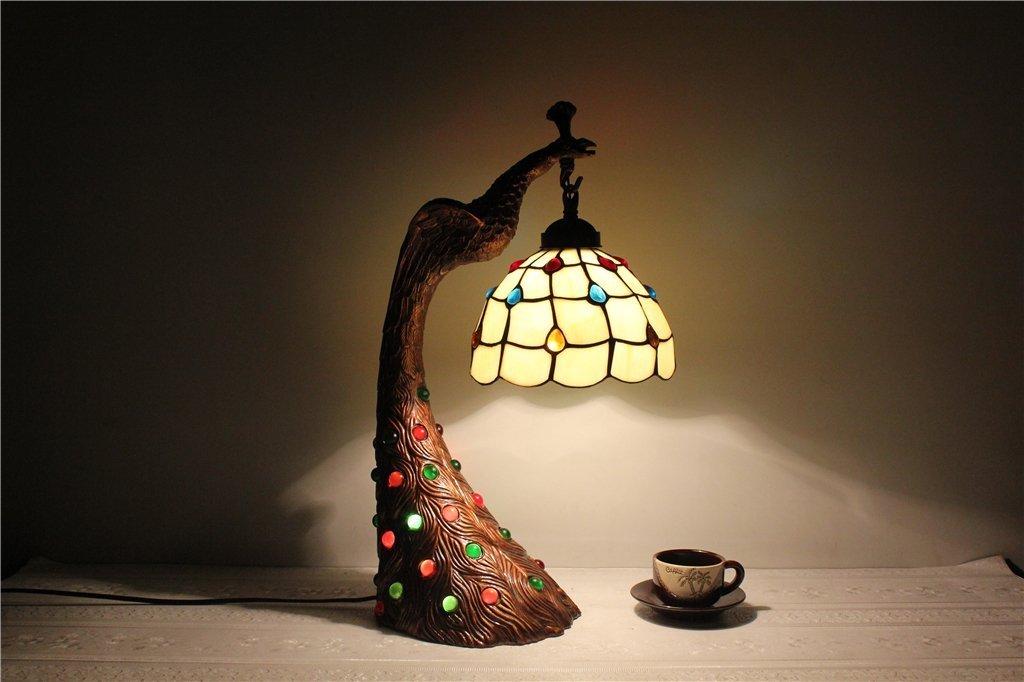 DD GRY 8 Zoll Continental Minimalist Retro Warm Gelb Handgemachte Kinder 'S Schlafzimmer Nachttischlampe Nachtlicht