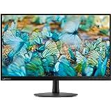 Lenovo L24E-20 Monitor, Display 23.8 FHD, Formato 16:9, Risoluzione 1920x1080, Angolo di Visuale 178°/178°, Tempo di Risposta 4 Ms, Contrasto 1000:1, Nero, 65DFKAC1IT