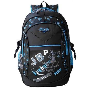 Nueva moda mochilas escolares para adolescentes, niños y niñas hijos de ortopedia de alta calidad impermeable Mochila kids mochila mochila,azul: Amazon.es: ...