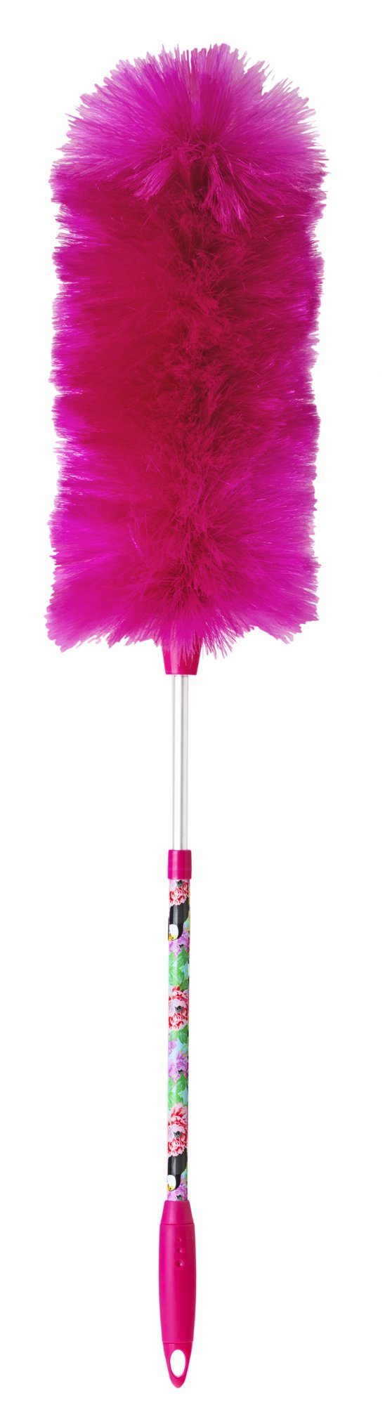 Vigar Toucan Static Duster with Extendable Handle, 6-3/4-Inches by 6-3/4-Inches by 31-Inches; Multi Colored