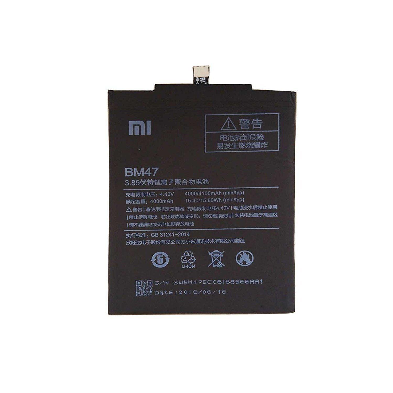 3f7e60566e397 Xiaomi Redmi 4 4100 mAh BM47 Battery  Amazon.in  Electronics