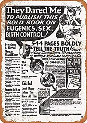 Kia Haop 1932 Ad For Book On Eugenics and Sex Metal Fender ...