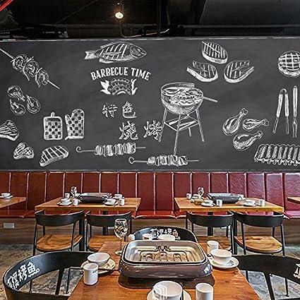 Poowef 3D Wallpaper Wallpaper Retro Juventud Pizarra Chalk ...