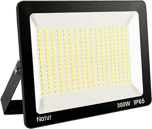 Foco LED Exterior Superbrillante 3000K para Jard/ín Porche Natur 30W 3000LM Foco LED con Sensor de Radar Proyector led exterior Impermeable IP66 Patio Blanco c/álido Garaje