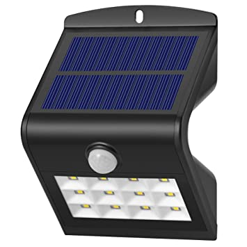 Amazon dephen solar wall lights12 leds bright solar powered dephen solar wall lights12 leds bright solar powered security lights with motion sensor outdoor aloadofball Gallery