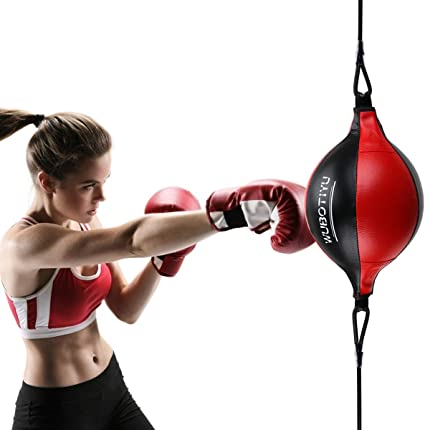 Hanging Boxing Speed Bag Punching Ball for Gym MMA Training Boxing Speed Bags