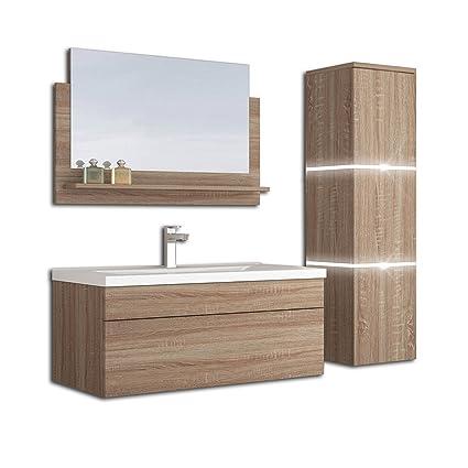 Home Deluxe Badmobel Set Wangerooge Big Holz L Inkl