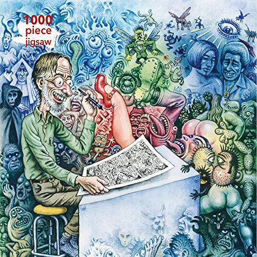 Adult Jigsaw R. Crumb: Who's Afraid of Robert Crumb?: for sale  Delivered anywhere in Canada