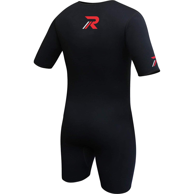 Roar Neoprene Suit Sweet Unisex (Black Red, X-Large) by Roar (Image #4)