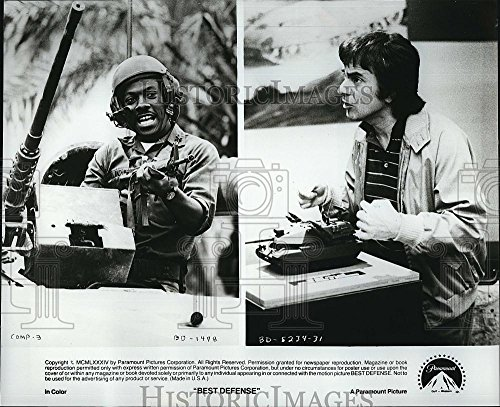 Vintage Photos Historic Images 1984 Press Photo Eddie Murphy Dudley Moore in The Movie Best Defense