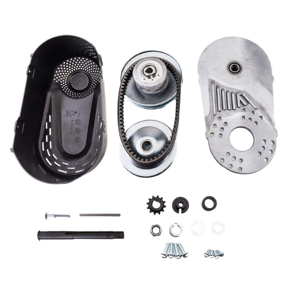 Torque Converter CVT Go Kart Clutch Kit Compatible for Comet 30 Series Predator Manco 3/4'' 5/8'' Bore 12T for #35 Chain Mini Bike Engine by Ameetaa