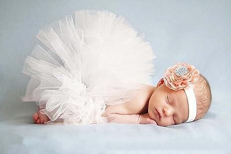 Foto Schatziestore fotografía prop bebé Colour blanco disfraz de ...