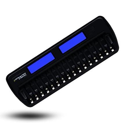 Amazon.com: TGX 16-bay ranura Smart Cargador De Batería Para ...