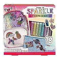 Fashion Angels Glitter Pin Design Kit/ Decorative Pin Kit/ Pin Making Kit for Girls